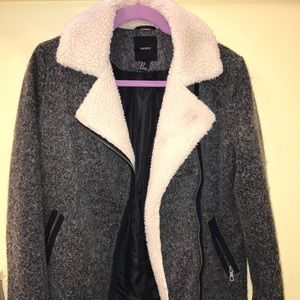 Forever 21 grey wool jacket